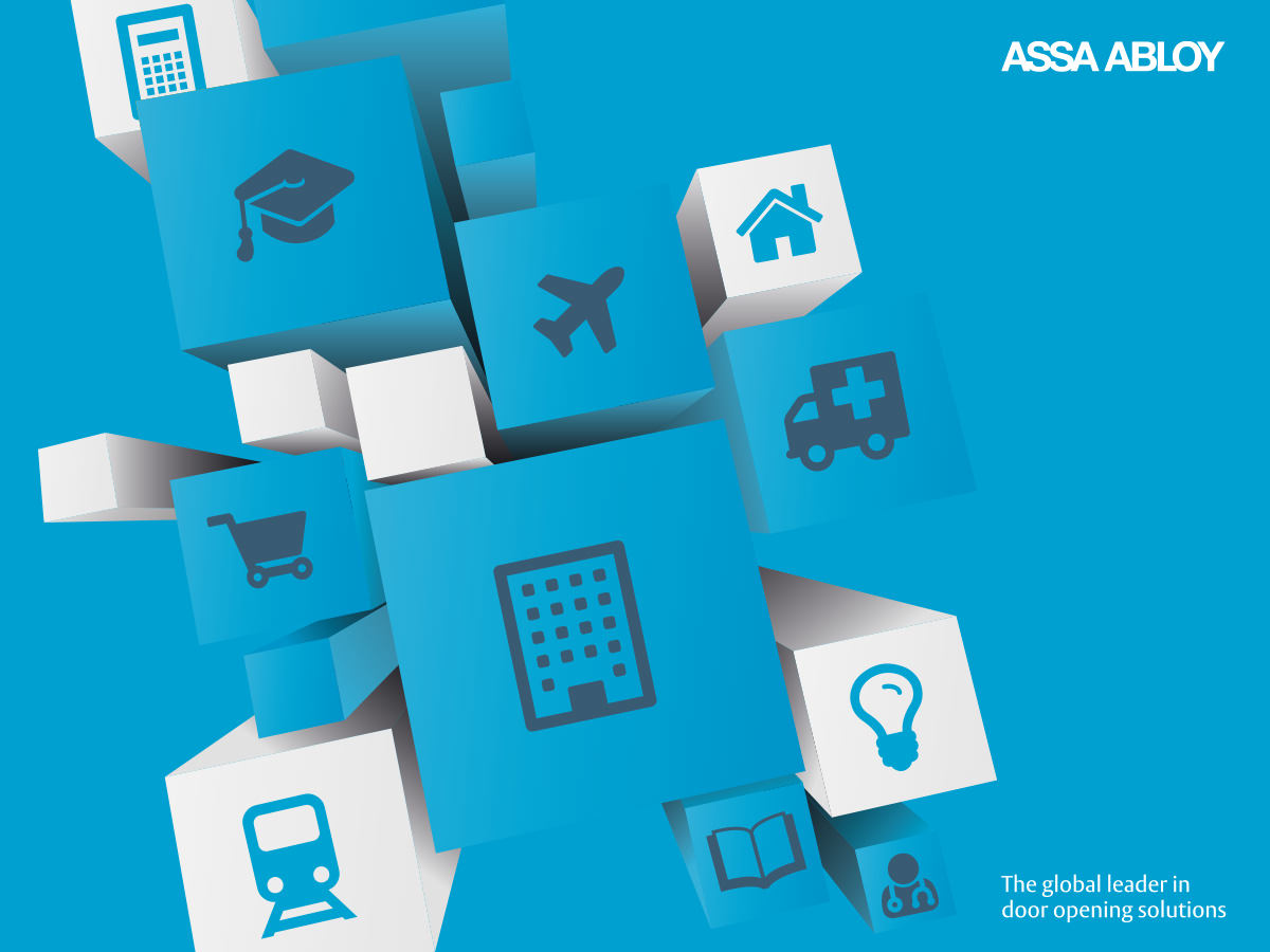 Assa Abloy IFSEC Exhibition Design - Theme