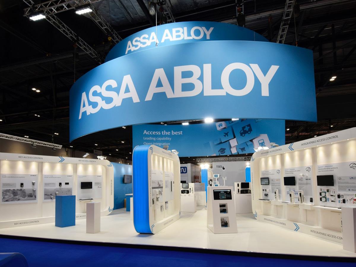 Assa Abloy IFSEC Exhibition Design - Stand 1