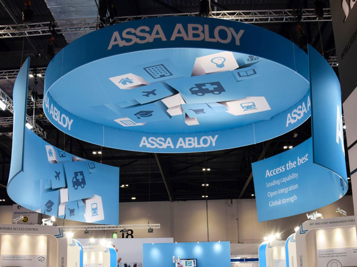 Assa Abloy IFSEC Exhibition Design - Stand 2