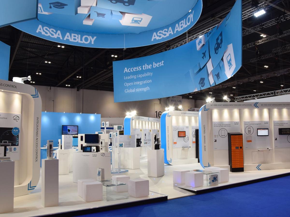 Assa Abloy IFSEC Exhibition Design - Stand 3