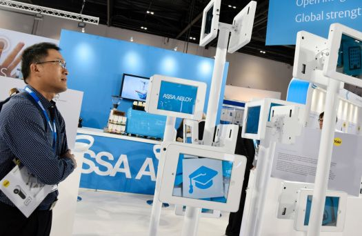 Assa Abloy IFSEC Exhibition Design - Welcome