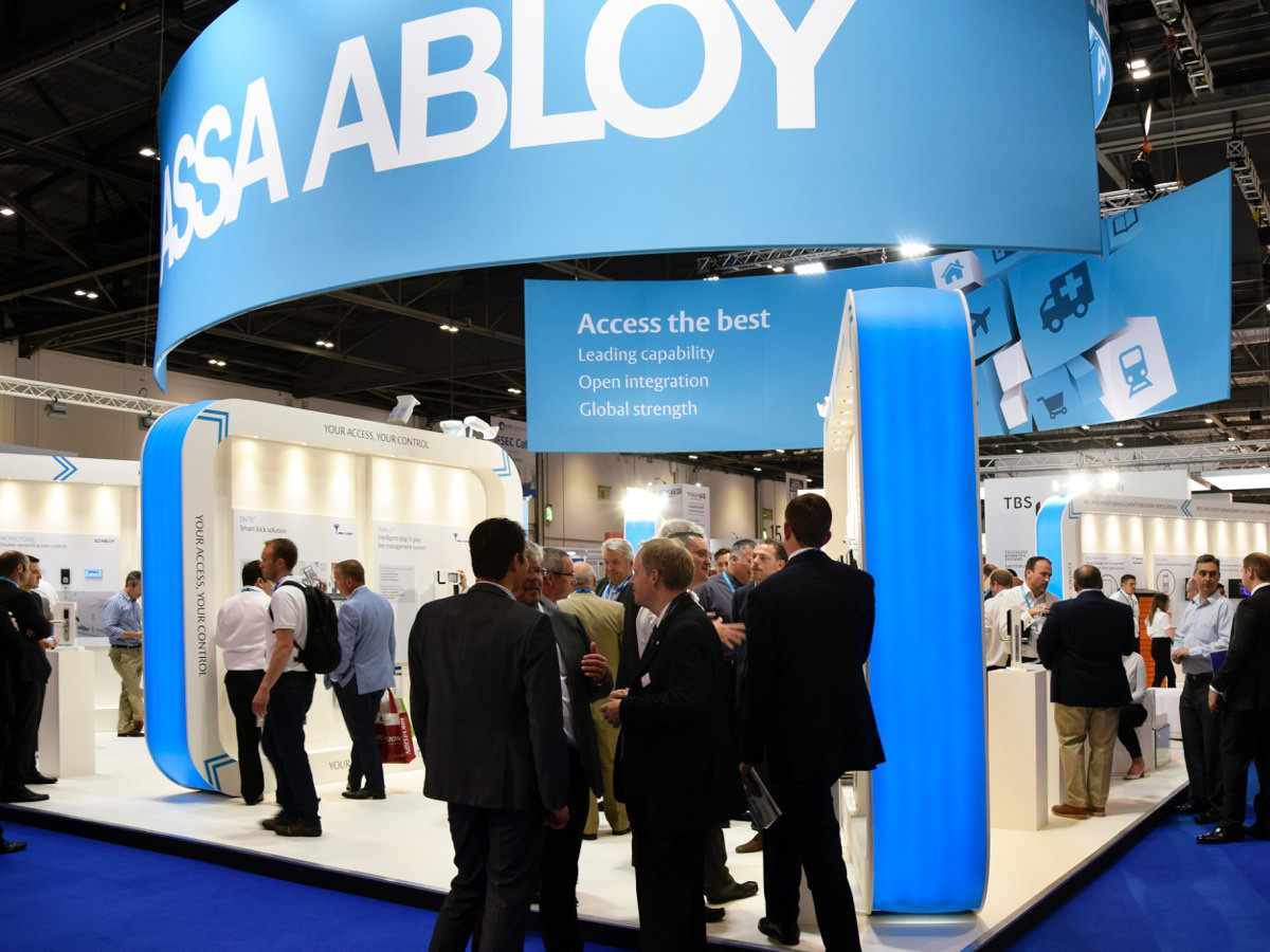 Assa Abloy IFSEC Exhibition Design - Event 2