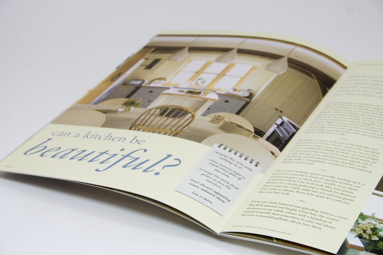 Kitchen Brochure spread 1