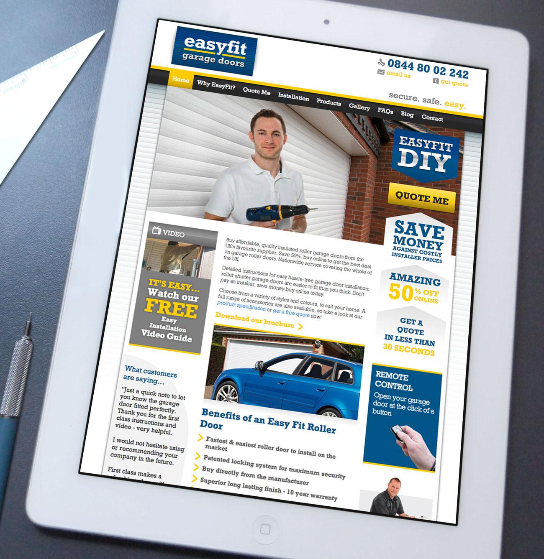 Easyfit Garage Doors Website