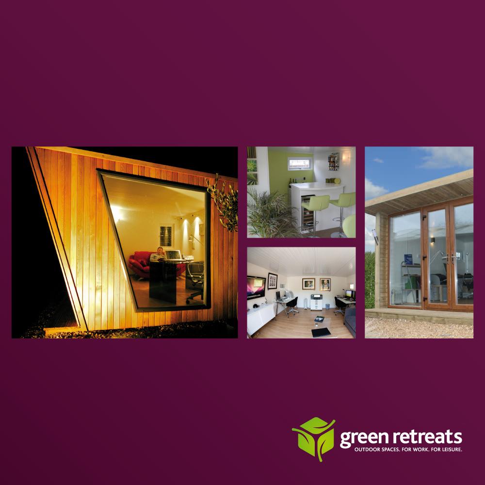 New Logo Design - Green Retreats brochure
