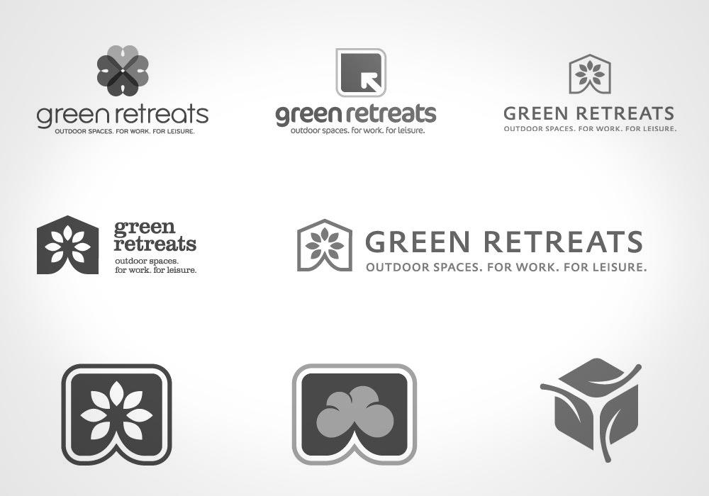 New Logo Design - Green Retreats options