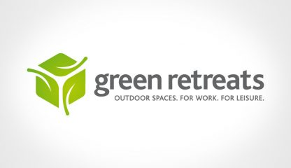 New Logo Design - Green Retreats 2
