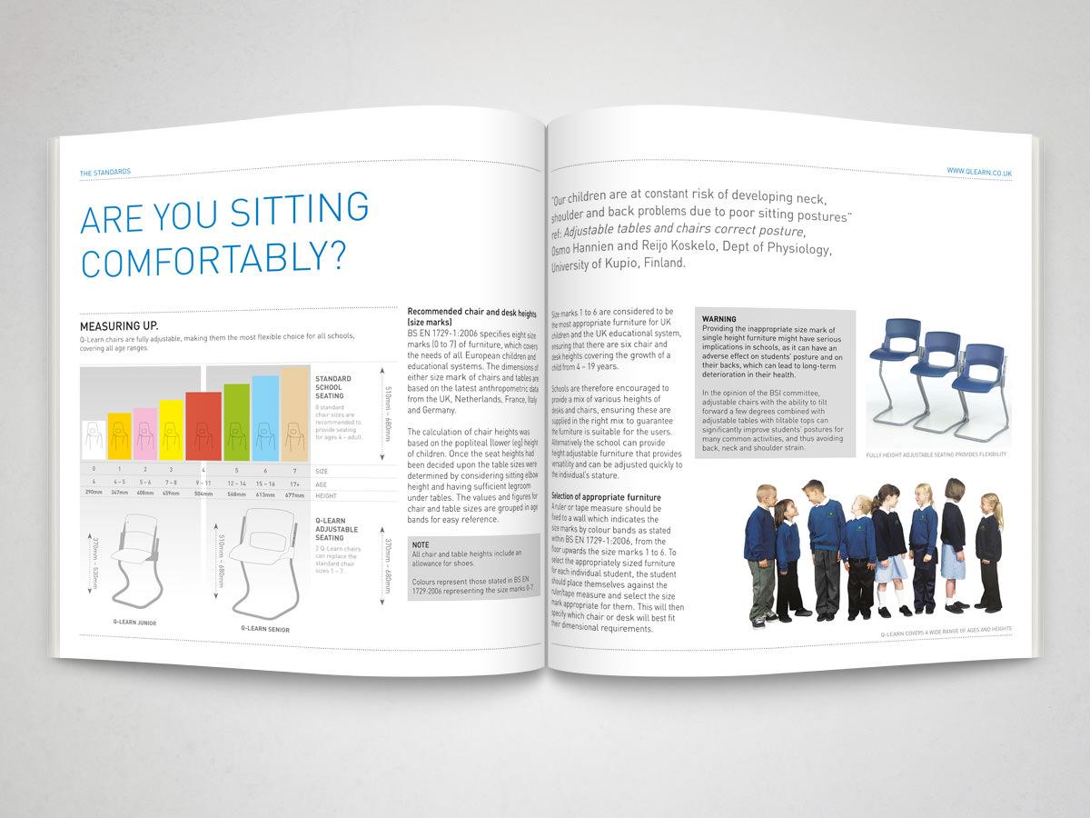 Education Product Brochure spread 2