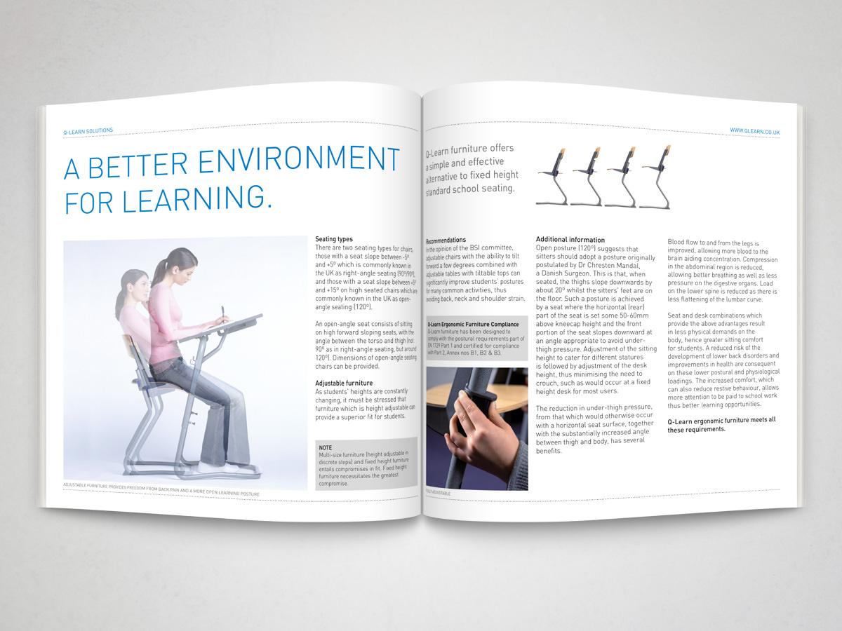 Education Product Brochure spread 3